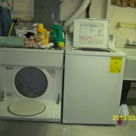 Laundry I do daily to wash uniforms for work